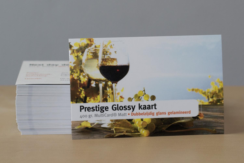 Prestige glossy drukwerk