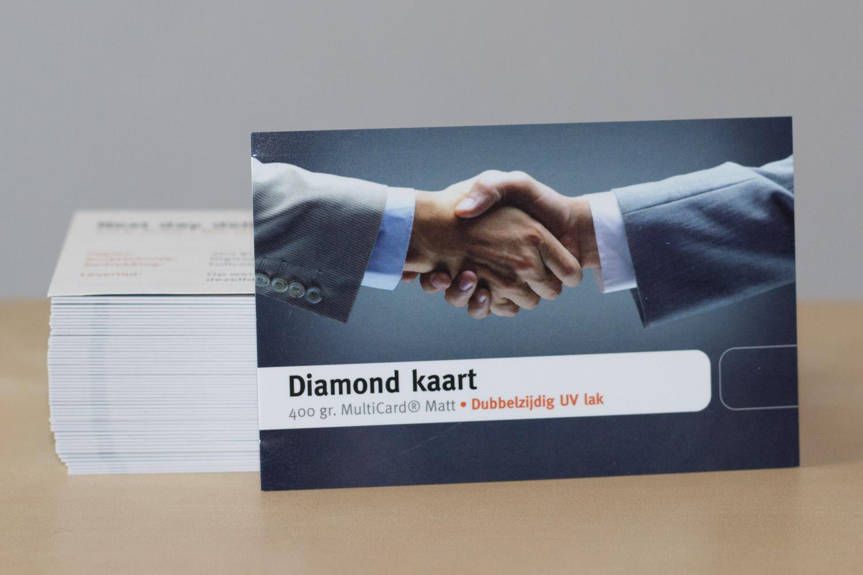 Diamond UV lak drukwerk