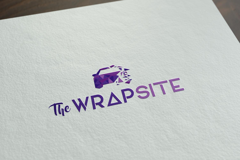 Logo The WrapSite vormgeving